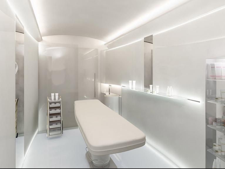 Cabina estetica in farmacia attrezzature per farmacia for Arredamento per estetica